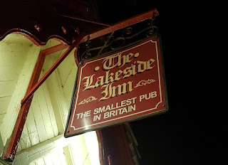 Britain's Smallest Pub - The Lakeside Inn at Southport