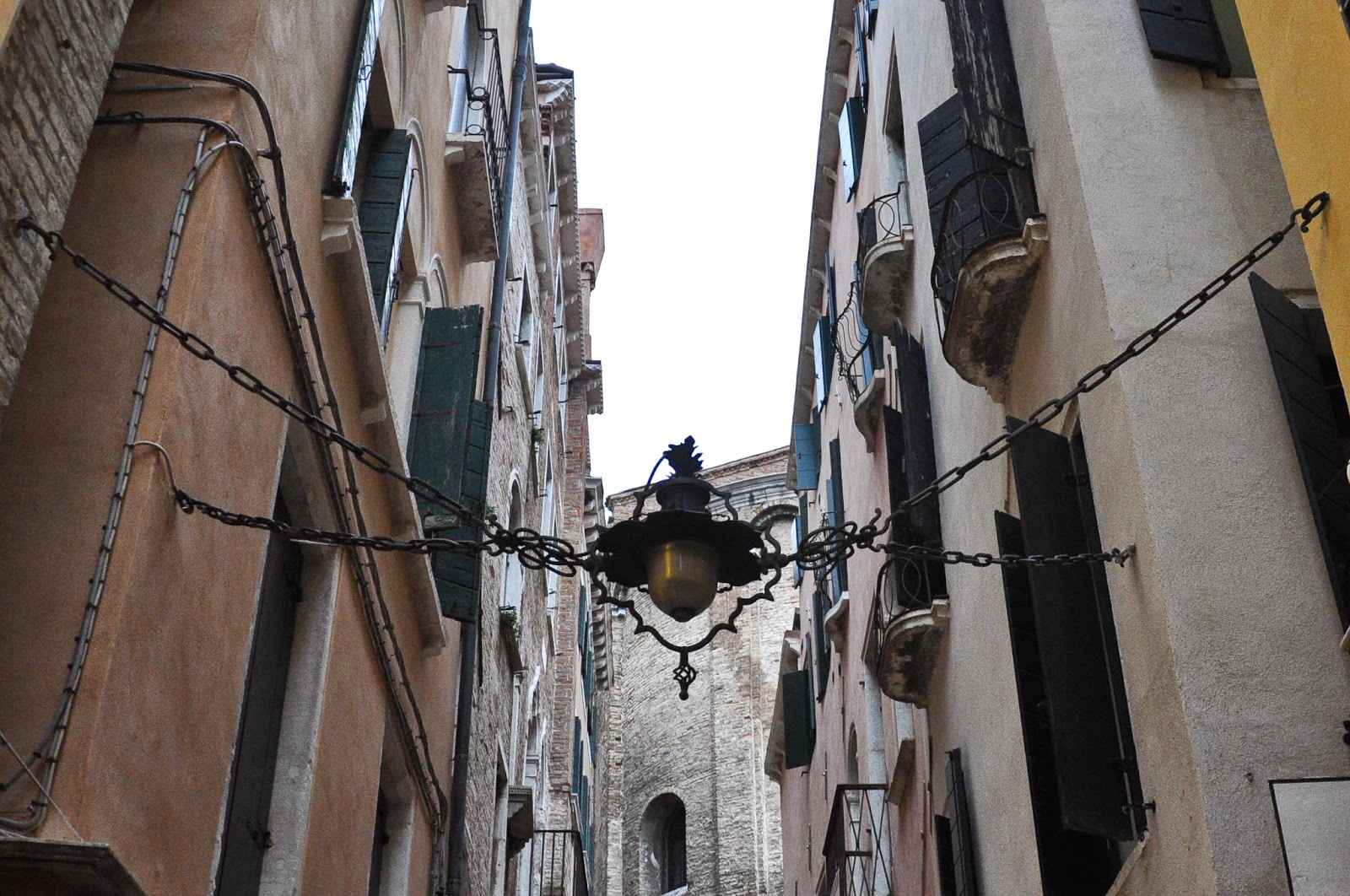 A street light in Venice