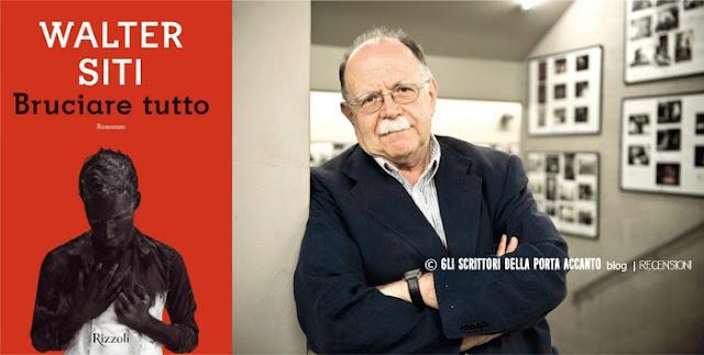 """""""Bruciare tutto - Walter Siti - Credits: @Corriere-Web"""