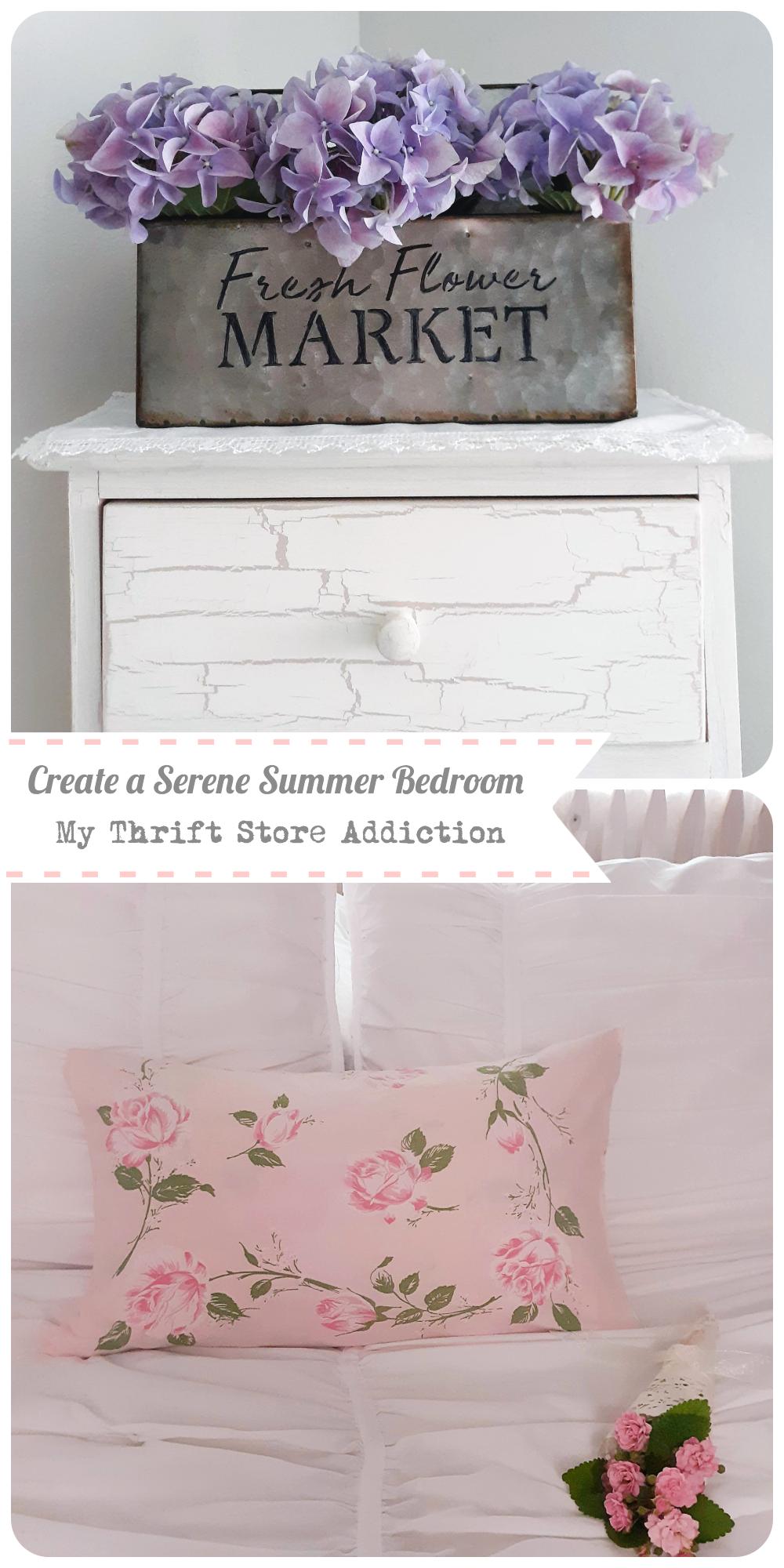 summer bedroom decor