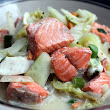Seafood with Coconut milk