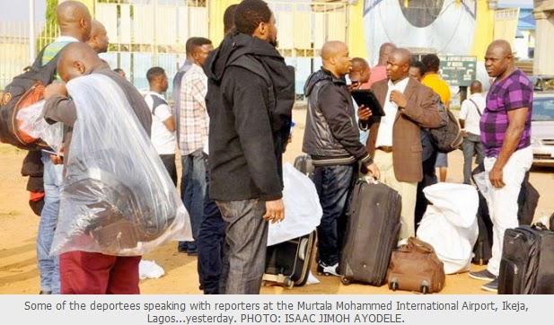 nigerians deported norway sweden finland