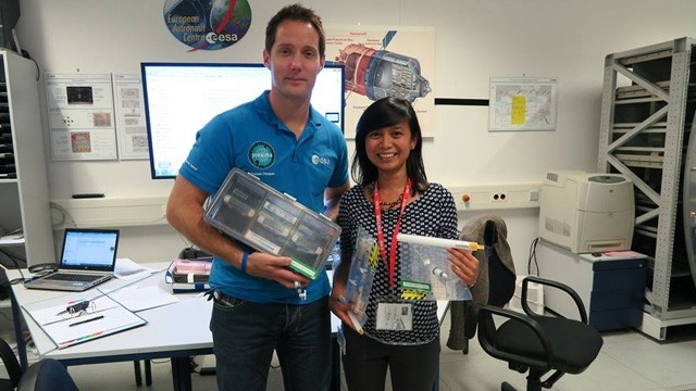 Filipina inspires after becoming Lead Operations Engineer at Europe Space Center