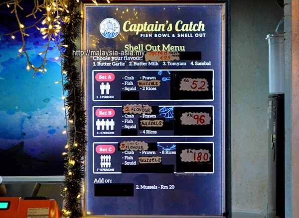Seafood Restaurant Container City Miri