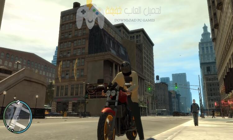 تحميل لعبة GTA IV للكمبيوتر من ميديا فاير