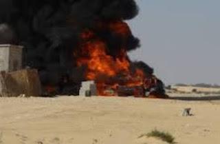 """سيناء الآن ...تصفية عدد كبير من الإرهابيين . انفجارات وتكبير """" حادث بئر العبد"""