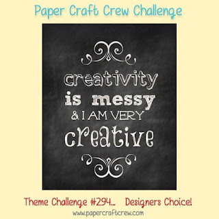 Paper Craft Crew Challenge #PCC294 with Stampin' Up! products order from Mitosu Crafts UK Online Shop
