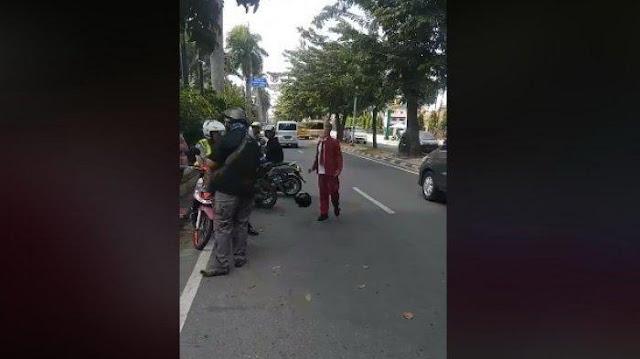 Viral Video Anak Sekolah Minta Keadilan saat Ditilang hingga Banting Helm dan Cegat Mobil Polisi