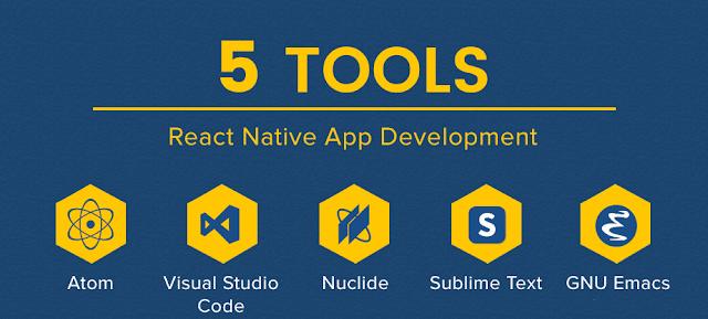 Top IDE sử dụng để lập trình React Native