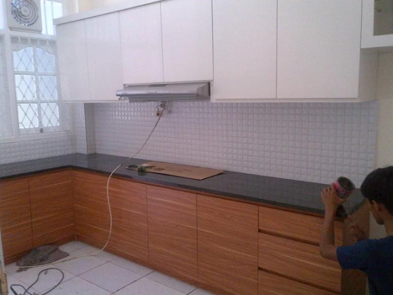 Cara Membuat Meja Dapur Granit