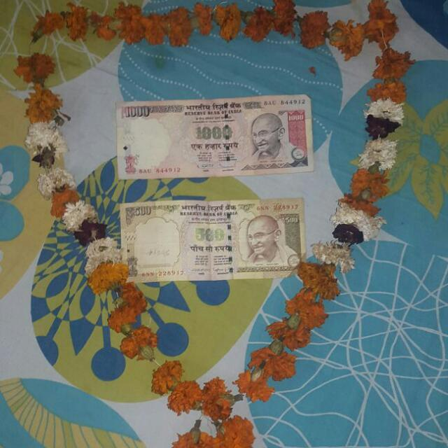 Funny Rs 500 & Rs 1000 Notes Photos, DP