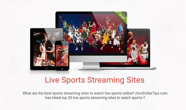 Top 20 Live Sports Streaming Sites to Watch Sports Online Free