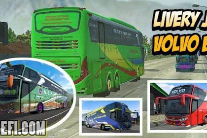 17+ Livery BUSSID JB3 Tronton Volvo B11R Full Variasi