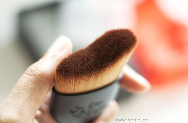 Eity Eight Curved Face Brush