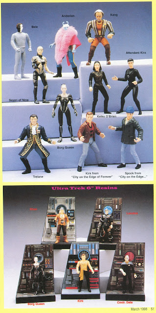 Star Trek Playmates Toy Fair 1998