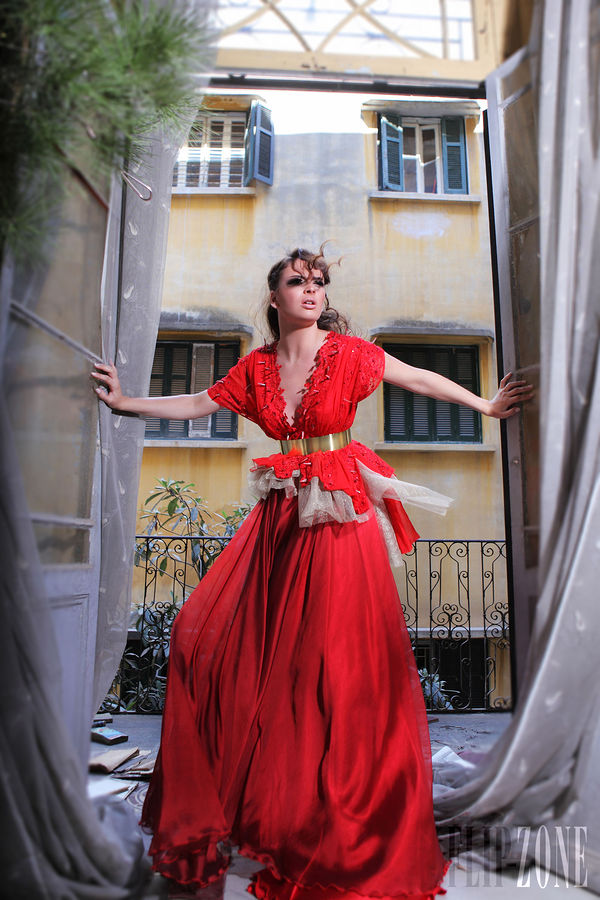 Increíbles vestidos de moda alternativos | Colección Ibrahim El Sharif