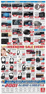 2001 Audio Video Weekly Flyer May 18 - 24, 2018