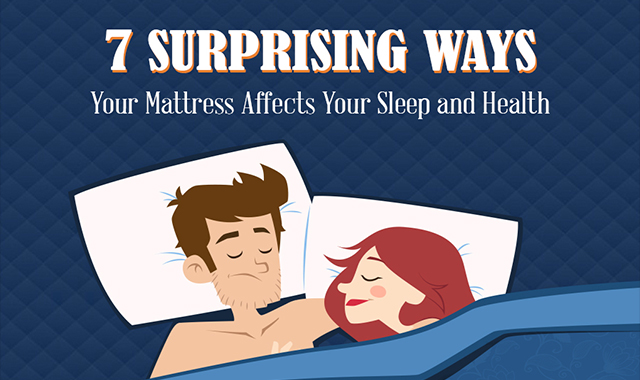 7 Surprising ways your sleep and health are affected #infographic