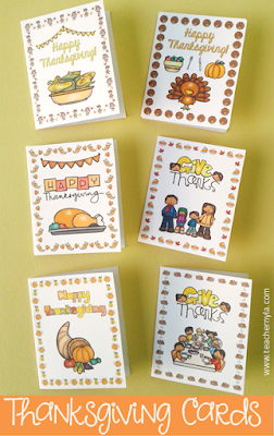 Thanksgiving Cards for Students