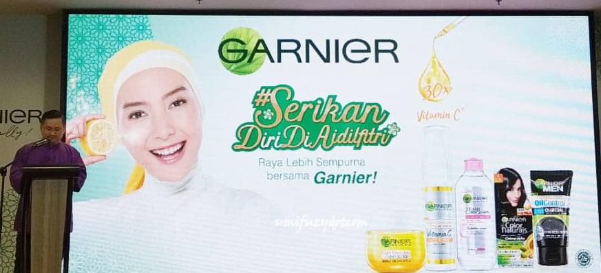 Kempen Serikan Diri Di Aidilfitri Dengan Garnier Bagi Memperkasa Wanita Berjaya Mengumpul RM15,000