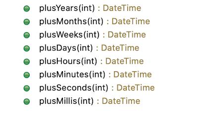 joda datetime plusDays + plusXXX methods