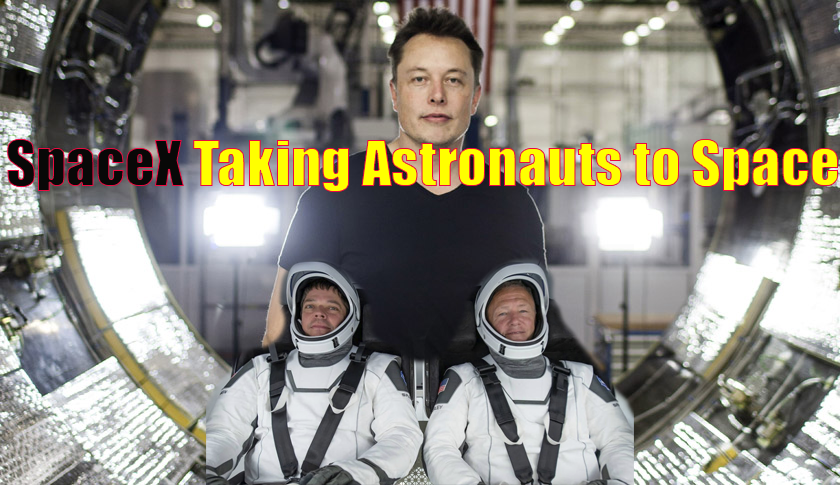 spaceX space astronauts