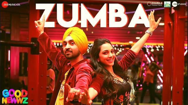 ZUMBA LYRICS- GOOD NEWWZ | DILJIT DOSANJH & KIARA ADVANI | ROMY | PUNJABI SONG