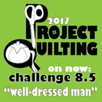 Project Quilting - well dressed man