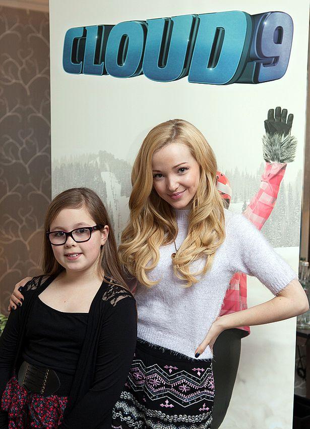 """Disney Channel'ın yeni gençlik dizi - filmi """"Cloud 9"""" ve TV dizisi Liv ve Maddie'nin yıldızı Dove Cameron ile Röportaj!"""