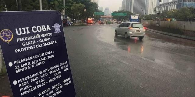 Berlaku Mulai Besok, Ini Sebaran Jalan yang akan Diberlakukan Ganjil-Genap di Jakarta