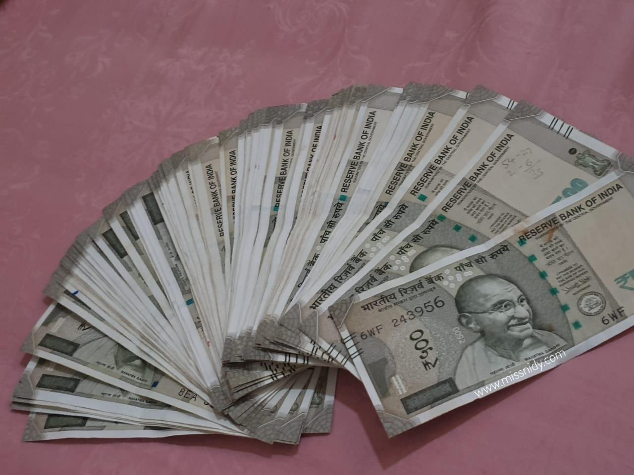 tukar uang rupee di jakarta