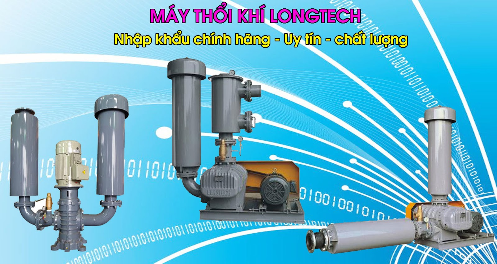 Máy thổi khí longtech chính hãng