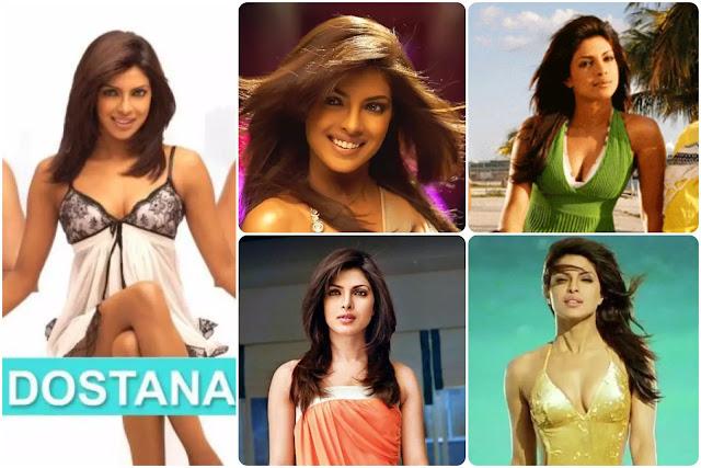 Priyanka Chopra Hairstyles In Dostana