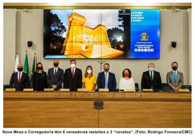 Câmara de Curitiba elege Mesa Diretora; Tico Kuzma é o presidente
