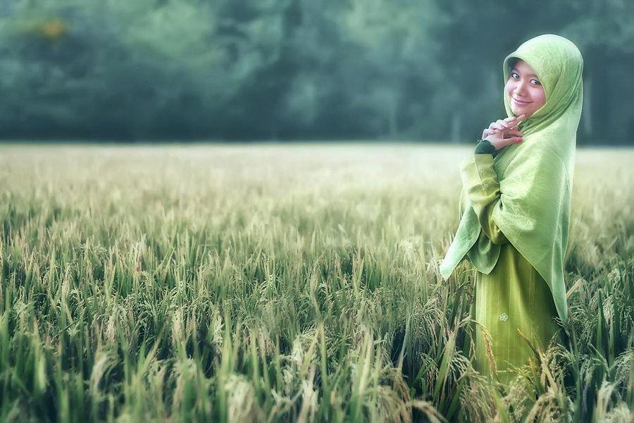 Konsep Foto Model Hijab Igo dalam Fotografi Hijab buat wisuda