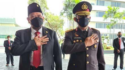 Ketua DPD RI bersama Kapolri Jenderal Polisi Listyo Sigit Prabowo