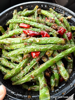 Fat Dragon's dry fry green beans