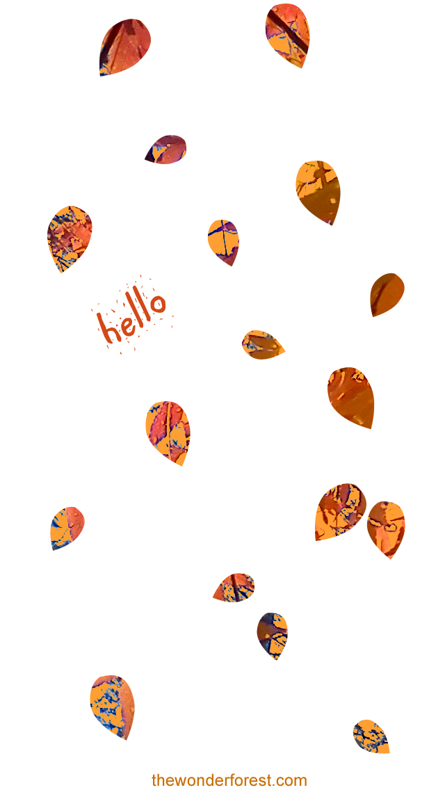Cell Wallpaper Hd Illustration Fall Free Fall Inspired Iphone Ipod Wallpapers Enjoy Wonder