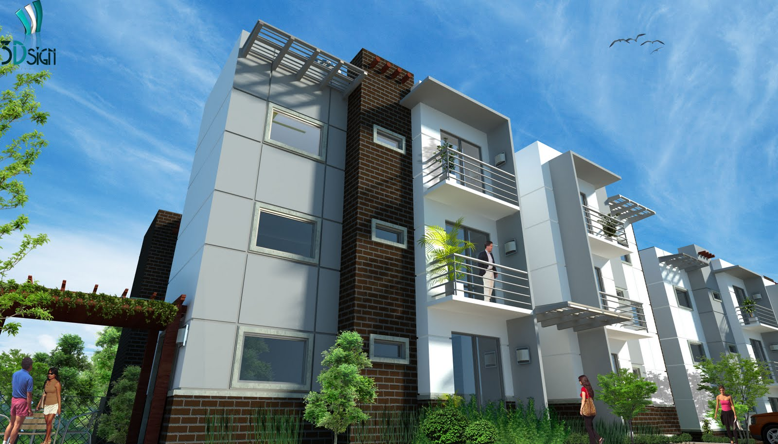15 Best Simple Architectural Designs For Apartments Ideas