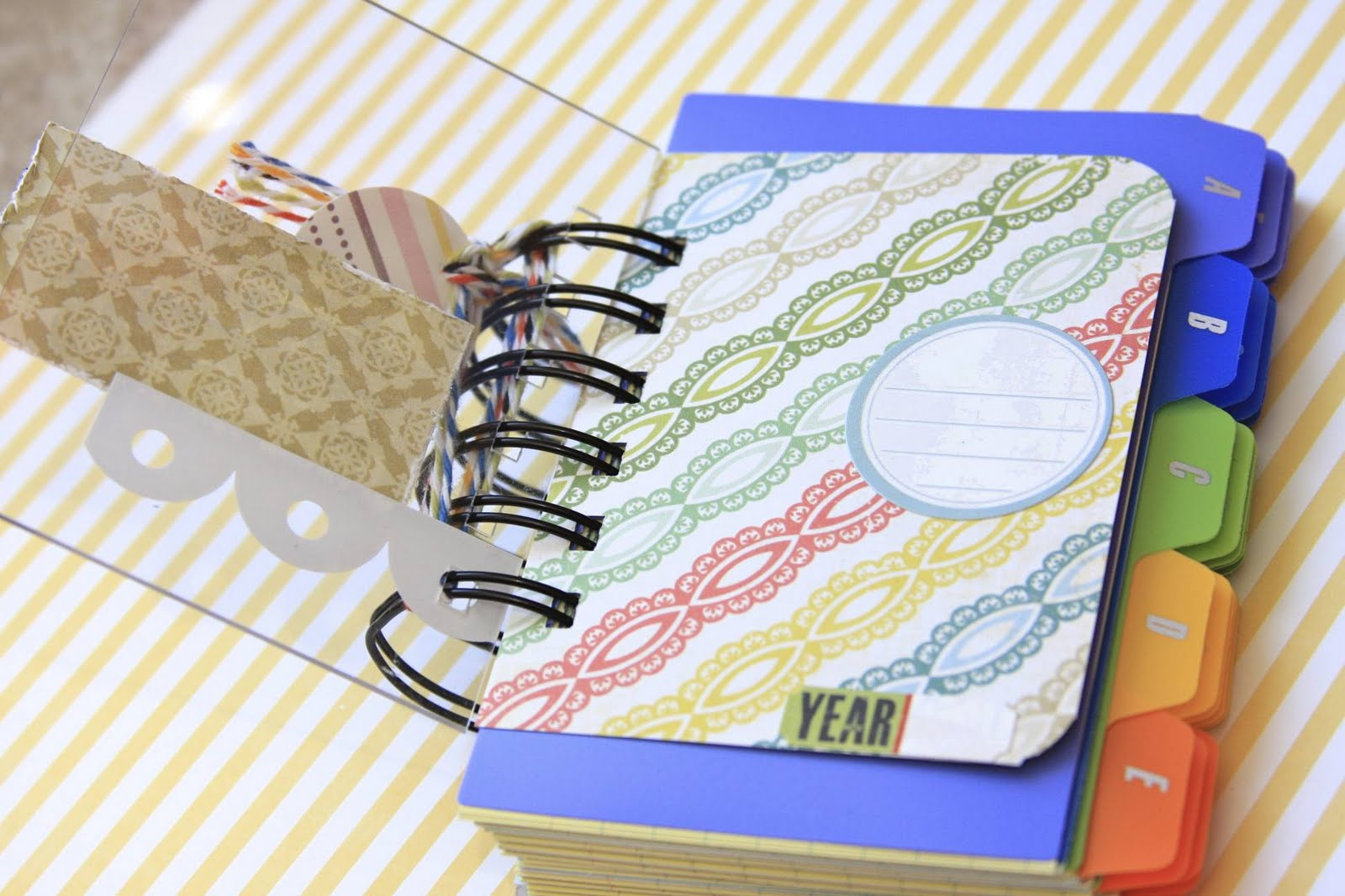 Index Card Password Notebook Tutorial | iloveitallwithmonikawright.com
