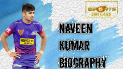 Naveen Kumar Goyat Biography   Photos, Instagram, Debut Match, Family, Stats, Height etc.