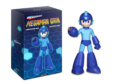 San Diego Comic-Con 2019 Exclusive Mega Man Grin Vinyl Figure by Ron English x MINDstyle Worldwide