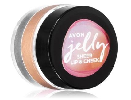 Avon Jelly fard multifuncțional, pentru buze și obraz