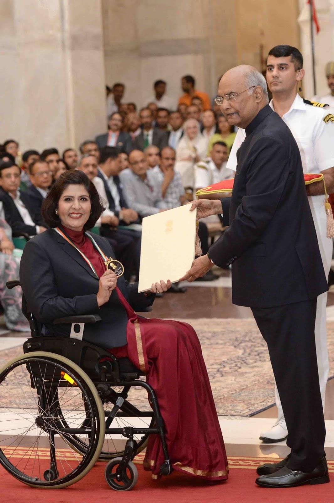 राष्ट्रपति ने वितरित किए खेल पुरस्कार, जडेजा और बजरंग रहे अनुपस्थित