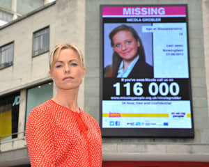 Prime Suspect, Kate McCann, Ambassador for Missing People