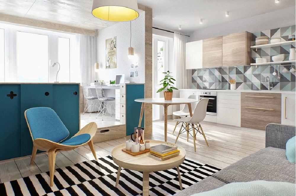 quattro soluzioni per rendere più ampia e luminosa una casa piccola