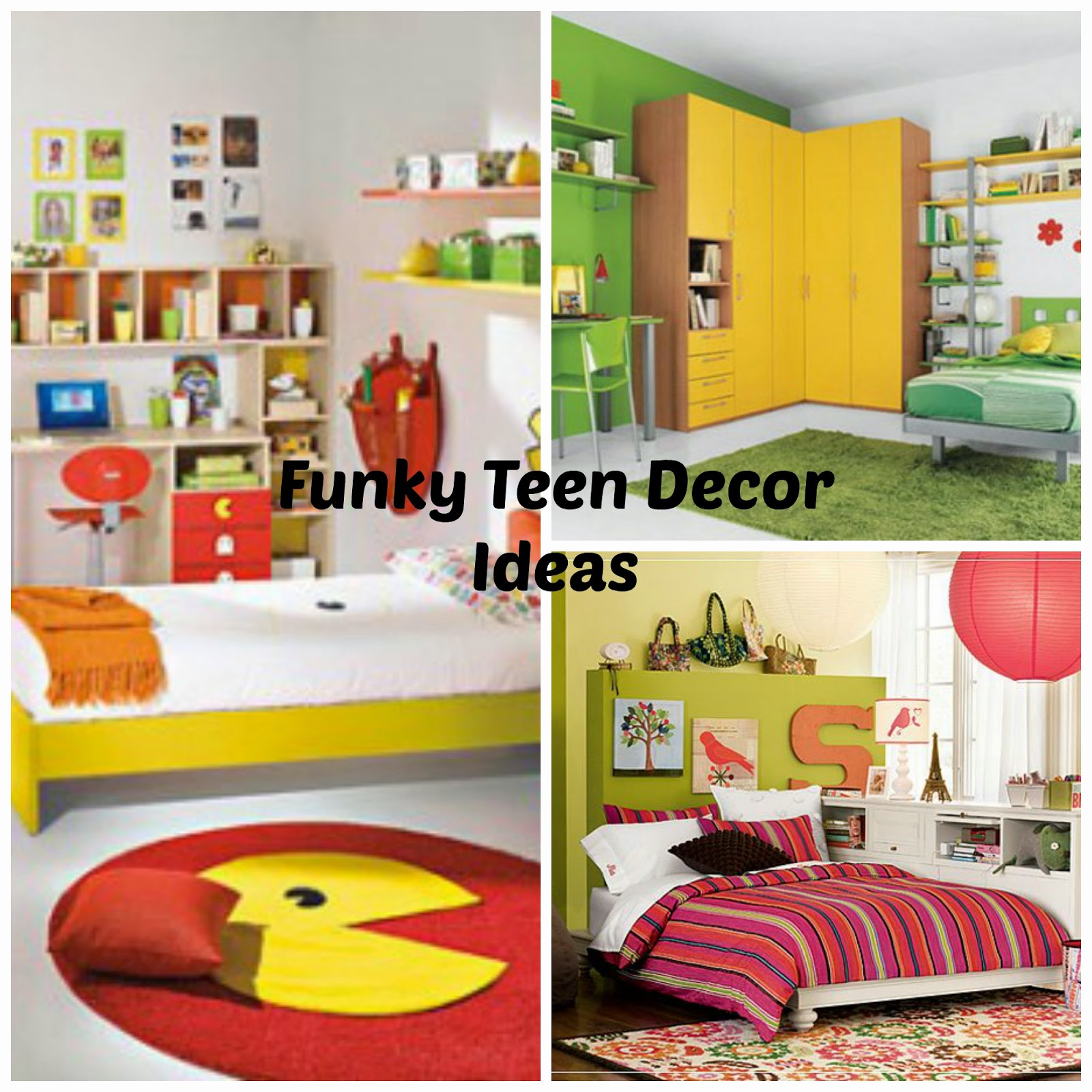 Funky Bedroom Decor: A Little Bit Of Patti: Funky Teen Room Decorating Or