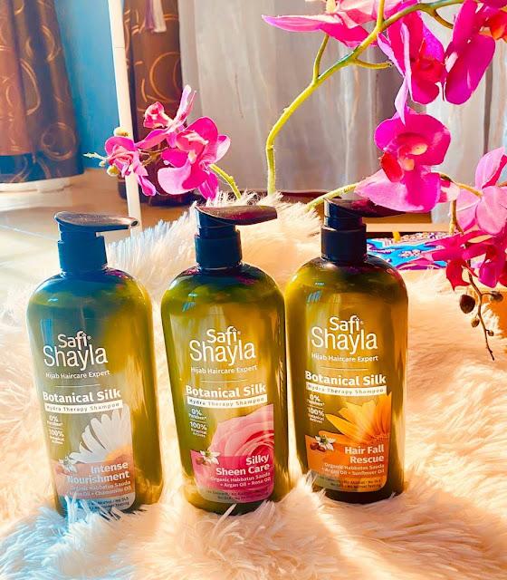 Safi Shayla Botanical Silk Shampoo Menjadikan Rambut Lebih Mudah Diurus Dan Kekal Wangi Sehingga 48 Jam