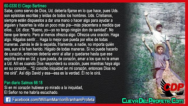 Siervo de Dios fijese en lo que hace - William Branham en Español