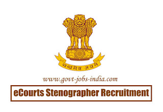 eCourts Stenographer Recruitment 2020